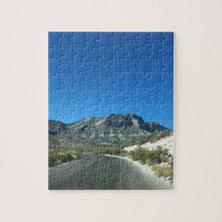 暖かい砂漠の日 ジグソーパズル