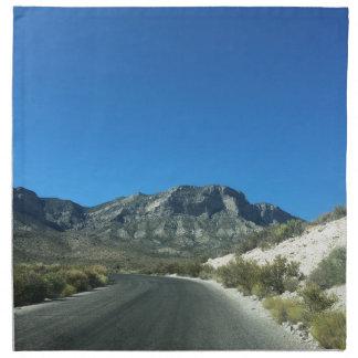 暖かい砂漠の日 ナプキンクロス