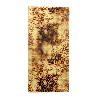 暖かい銅パターン3 ナプキンクロス