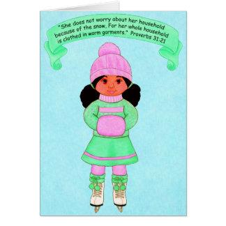 暖かいGarments~Scriptureで雪着せられる カード