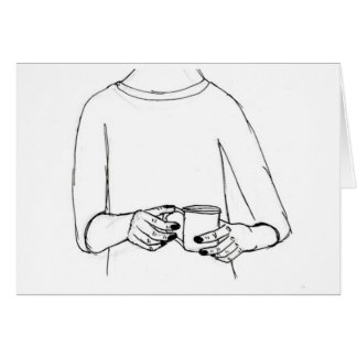 暖まる飲料カード カード