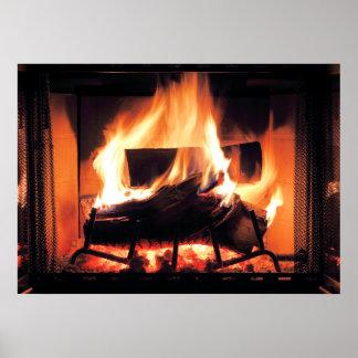 暖炉ポスター ポスター