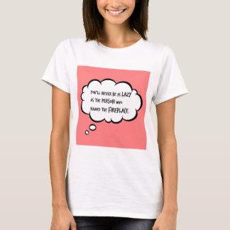 暖炉 Tシャツ