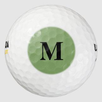 暗いアスパラガスの無地 ゴルフボール