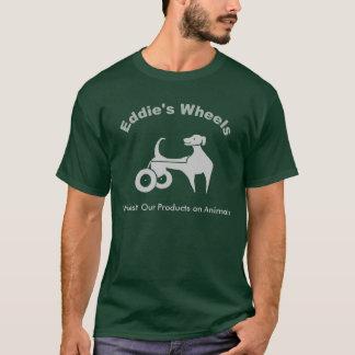 暗いエディーの車輪 Tシャツ
