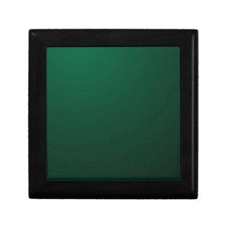 暗いエメラルドの(深緑色のデザインはとの衰退します) ~ ギフトボックス