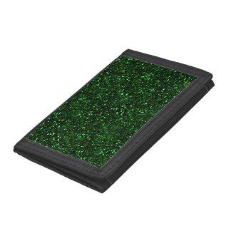 暗いエメラルドグリーンのグリッター
