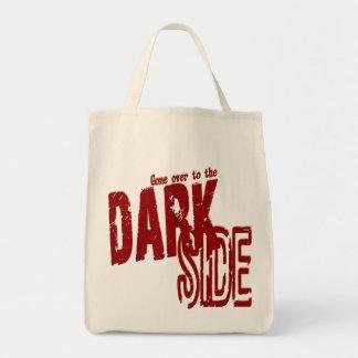 暗いサイドのオーガニックな食料雑貨のトート トートバッグ