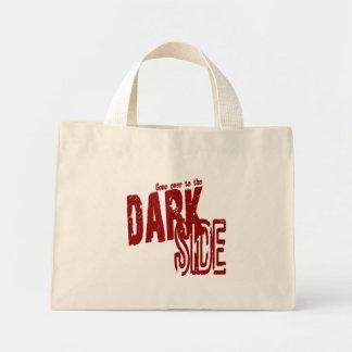 暗いサイドの小さいトート ミニトートバッグ
