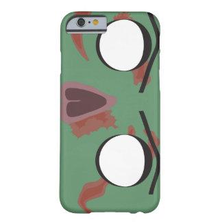 暗いゾンビの顔 BARELY THERE iPhone 6 ケース