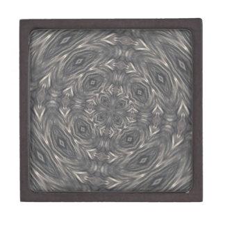 暗いダイヤモンドはKladescopeパターンを注目します ギフトボックス