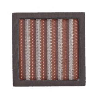 暗いチョコレートによって刻まれる刺繍された一見のギフト ギフトボックス