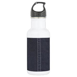 暗いデニムの継ぎ目 ウォーターボトル