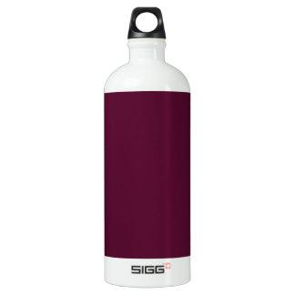 暗いパンジーの紫色(無地)の~ ウォーターボトル