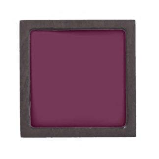 暗いパンジーの紫色(無地)の~ ギフトボックス