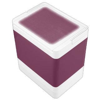 暗いパンジーの紫色(無地)の~ クールボックス