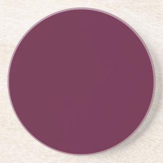 暗いパンジーの紫色(無地)の~ コースター