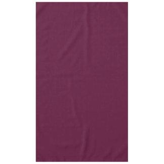 暗いパンジーの紫色(無地)の~ テーブルクロス