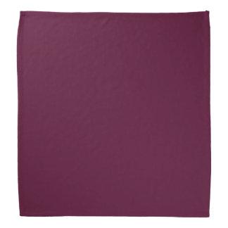 暗いパンジーの紫色(無地)の~ バンダナ