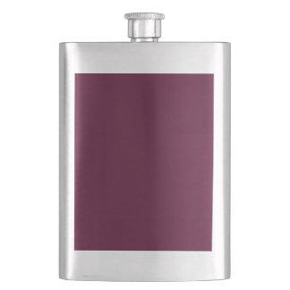 暗いパンジーの紫色(無地)の~ フラスク