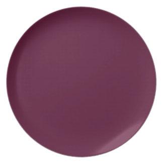暗いパンジーの紫色(無地)の~ プレート