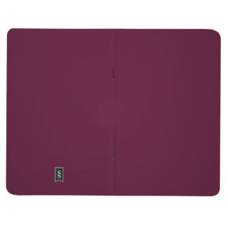 暗いパンジーの紫色(無地)の~ ポケットジャーナル