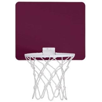 暗いパンジーの紫色(無地)の~ ミニバスケットボールゴール
