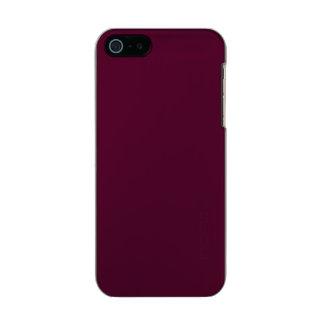 暗いパンジーの紫色(無地)の~ メタリックiPhone SE/5/5sケース