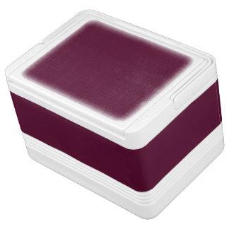 暗いパンジーの紫色(無地)の~ IGLOO クーラーボックス