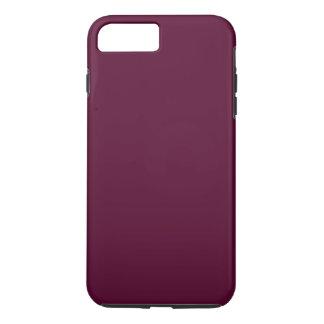 暗いパンジーの紫色(無地)の~ iPhone 8 PLUS/7 PLUSケース