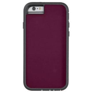 暗いパンジーの紫色(無地)の~ TOUGH XTREME iPhone 6 ケース