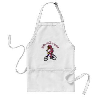 暗いピンクの女の子BMX スタンダードエプロン
