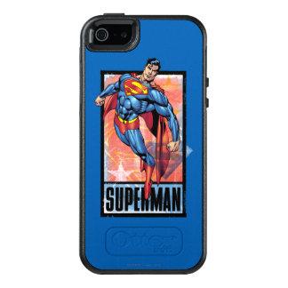 暗いボーダーを持つスーパーマン オッターボックスiPhone SE/5/5s ケース