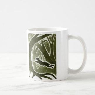 暗いマグの跳躍 コーヒーマグカップ