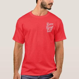 暗いワイシャツの低音のボートビル Tシャツ
