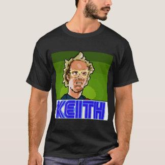 暗いワイシャツピクセルキース Tシャツ