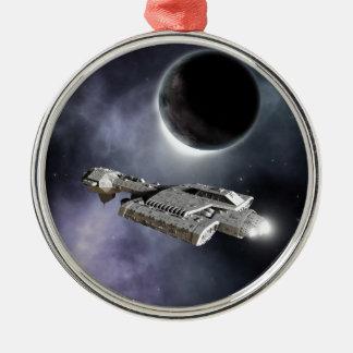 暗い世界-空想科学小説の巡洋戦艦 メタルオーナメント
