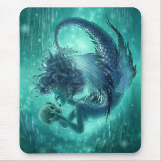 暗い人魚Mouspad -秘密のキス マウスパッド