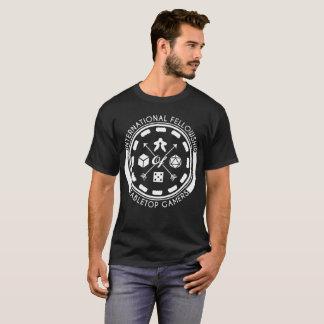 暗い卓上のゲーマーの国際的な団体 Tシャツ