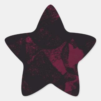 暗い夏 星シール