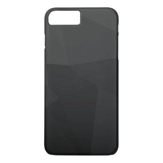 暗い多角形パターン iPhone 8 PLUS/7 PLUSケース