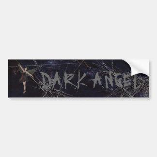 暗い天使のゴシック様式バンパーステッカー バンパーステッカー