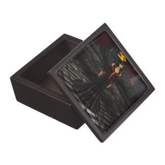 暗い天使の記念品箱 ギフトボックス