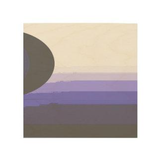 暗い太陽 ウッドウォールアート