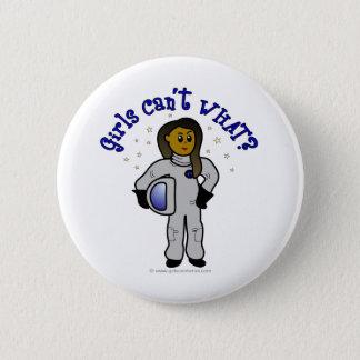 暗い女の子の宇宙飛行士 缶バッジ
