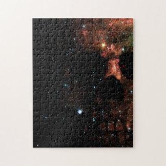 暗い宇宙スカルのジグソーパズル ジグソーパズル