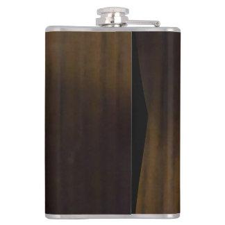 暗い寄木細工の床 フラスク