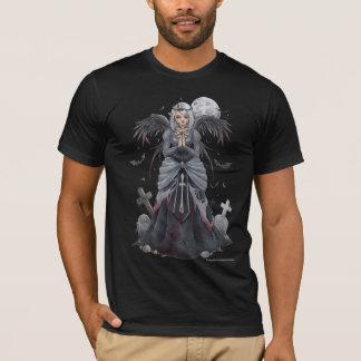 暗い尼僧の天使のワイシャツ Tシャツ