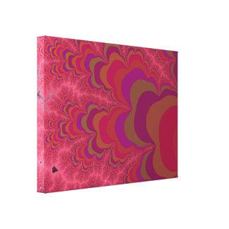 暗い愛フラクタルの芸術家によって設計されているプリント キャンバスプリント