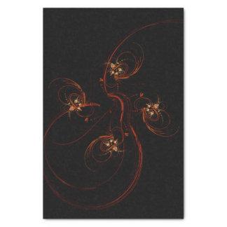 暗い抽象美術から 薄葉紙